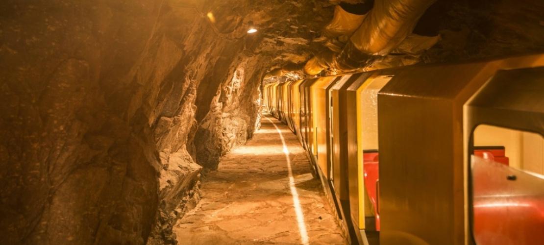 Radonové jeskyně v Bad Gastein