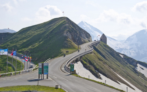 Vysokohorská silnice Grossglockner Hochalpenstrasse