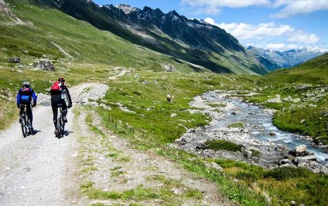 Gasteinské údolí - ráj cyklistiky