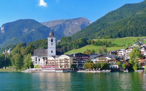 Wolfgangsee - ráj vodních sportů
